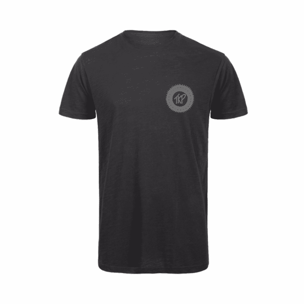TKP circle icon tee black