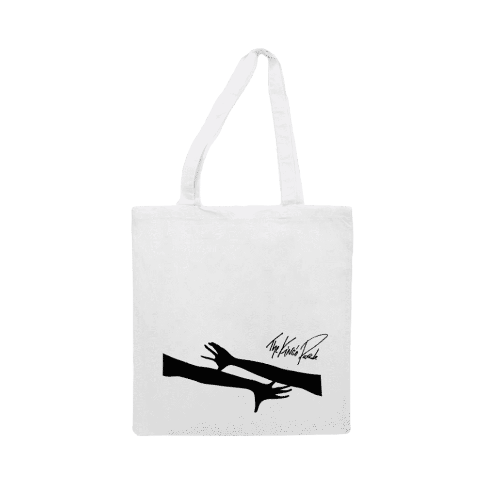 Silhouette canvas bag